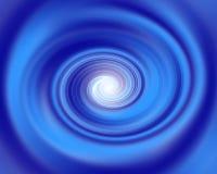 blå tunnel royaltyfri illustrationer