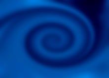 blå twirl royaltyfria bilder