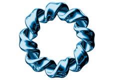 blå twist Arkivfoto