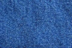 blå tygjeans Arkivbilder