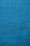 blå tyglampatextur Blå torkdukebakgrund Övre sikt för slut av blå tygtextur och bakgrund Arkivfoto