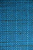 blå tyglampatextur Blå torkdukebakgrund Övre sikt för slut av blå tygtextur och bakgrund Royaltyfria Foton