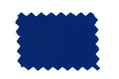 blå tygprovkarta Arkivbilder