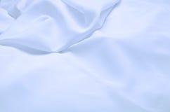 blå tygsilk Arkivbild