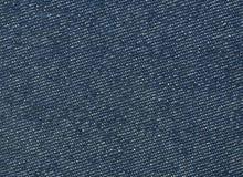 blå tygtextur Royaltyfri Fotografi