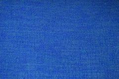 blå tygtextur Fotografering för Bildbyråer