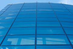 blå vägg Royaltyfria Bilder