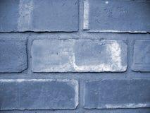 blå vägg Arkivfoton