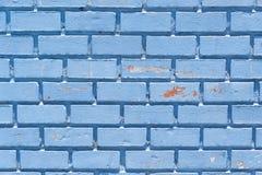 Blå vägg Royaltyfri Foto