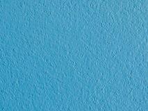 Blå väggbakgrund Arkivfoto