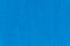 Blå väggtextur för bakgrund Royaltyfri Fotografi