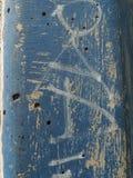 Blå väggtextur för Grunge Royaltyfria Bilder