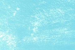 Blå väggtexturbakgrund med skrapor Fotografering för Bildbyråer