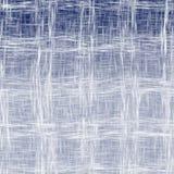Blå väv texturerad bakgrund Arkivfoton