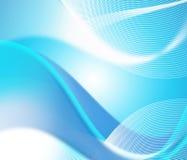 Blå vågbakgrund Arkivbilder
