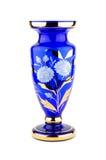 blå vase Royaltyfri Fotografi
