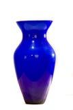 blå vase Arkivbilder