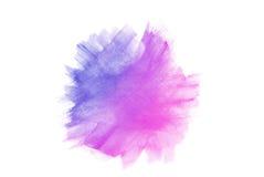 blå vattenfärg Fotografering för Bildbyråer