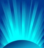 blå vektor för ljusa strålar Fotografering för Bildbyråer