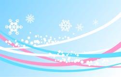 blå vinter för bakgrund royaltyfri illustrationer