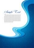 blå vinter för bakgrund vektor illustrationer