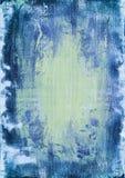 Blå vit träbakgrund, textur Arkivbild