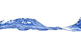 blå wave Royaltyfria Foton