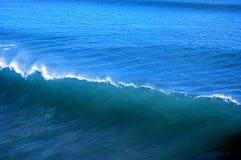 blå wave Royaltyfri Fotografi