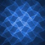 blå wave royaltyfri illustrationer