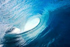 blå wave Royaltyfria Bilder