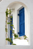 blå white Royaltyfria Foton