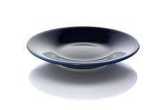 blå white för platta för clippingbana Fotografering för Bildbyråer