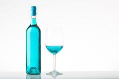 blå wine royaltyfria foton