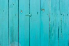 Blå wood bakgrund. Arkivfoton