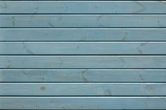 Blå Wood bakgrund Arkivfoton