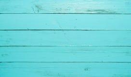 Blå wood bakgrund Royaltyfri Foto