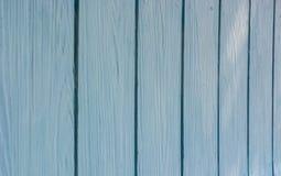 Blå wood brädepanel Royaltyfri Bild