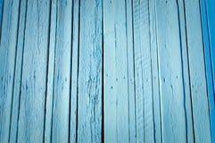 Blå wood plankayttersidatextur Arkivbilder