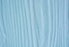 Blå wood vägg Arkivbild