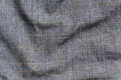 Blå yttersida för torkduk för färggrov bomullstvilltextil Royaltyfria Bilder
