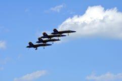 blåa änglar Royaltyfri Fotografi