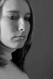 blåa ögon Fotografering för Bildbyråer