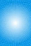 Blåa abstrakta ljusa strålar Arkivbilder