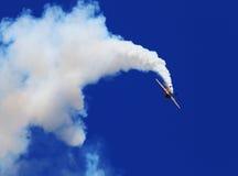 Blåa Angel Airshow på rödhakar AFB Arkivbilder