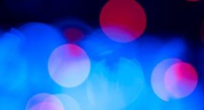 Blåa bakgrunder för abstrakta ljus Royaltyfria Foton