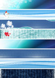 blåa baner Arkivfoto