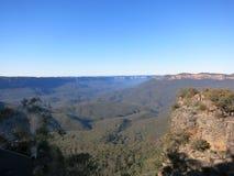 Blåa berg Sydney NSW Arkivbilder