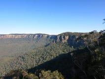 Blåa berg Sydney NSW Royaltyfri Bild