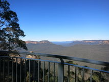 Blåa berg Sydney NSW Royaltyfri Fotografi