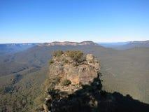 Blåa berg Sydney NSW Arkivfoton